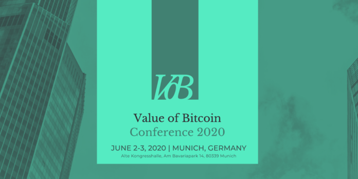 value of bitcoin conference 2020